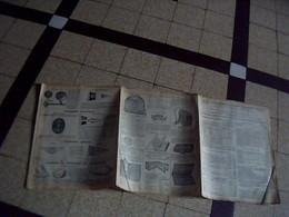 Tract Publicitaire Touring Club De France Cyclisme/ Tourisme Nautique/ Aerien /de Montagne Catalogue 3 Pages Annee ?? - Livres, BD, Revues