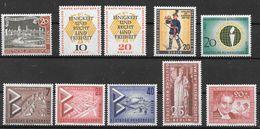 Berlin 1957  / MiNr.   159 , 160 – 162 , 173 , 174 – 175 , 176 , 177 , 178   ** / MNH   (f2030) - Ongebruikt
