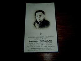 RARE Militaria : Raphaël Degallaix De Vezon, Prisonnier De Guerre, Assassiné Par Les Nazis à Pillau Le 26/01/1945 - 1939-45