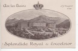 CP ( Aix Les Bains - Splendide Royal & Excelsior ) - Aix Les Bains