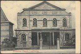 Wesleyan Chapel, Camborne, Cornwall, C.1905-10 - Postcard - England