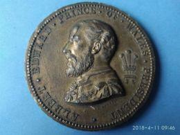 Alberto Edward Principe Di Wales 1873 Londra Esposizione Iternazionale Di Arti E Industrie - Monarchia/ Nobiltà