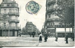 N°66760 -cpa Le Havre -rue Jules Lecesne Et Rue Mexico- - Le Havre