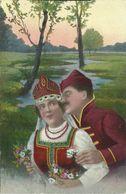 AK Ukraine Unkrainische Typen Paar In Tracht ~1915 #02 - Europa
