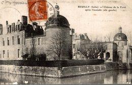 REUILLY CHATEAU DE LA FERTE APRES  L INCENDIE - Other Municipalities