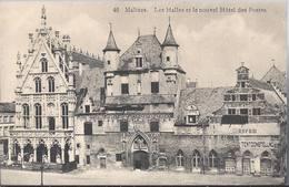 Mechelen - Malines - Les Halles Et Le Nouvel Hotel Des Postes - HP1496 - Mechelen