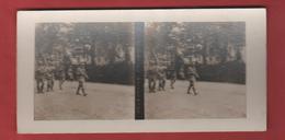 Vue Stéréoscopique Délégation Polonaise - 1914-18
