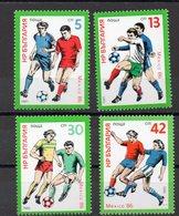 BULGARIE  Timbres Neufs ** De 1985  ( Ref 2557 ) Sport - Football - 2 Scans - Nuevos