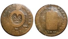 2 SOLS AUX BALANCES 1793 Vachette (Pau) - 1789-1795 Monnaies Constitutionnelles