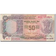 Billet, Inde, 50 Rupees, KM:84a, TB - Inde