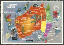 CP W578A-An Authentic Map Of Western Australia And Its Dependencies . Non Circulé-unused - Cartes Géographiques