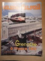 Vie Du Rail 1983 1985 Grenoble TGV Quartier Sernam Gare Tramway Histoire Pont De Claix Oisans Venosc Musée Tourisme - Trains
