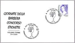 Feria Enogastronomica GIORNATE DELLA BARBERA. CONCURSO ETIQUETAS. Agliano Terme, Asti, 2004 - Vinos Y Alcoholes