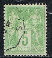 FRANCE : N° 106 Oblitéré  (Type Sage) - PRIX FIXE - - 1876-1898 Sage (Type II)
