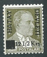 Turquie , Alexandrette  - Administration Turque     - Yvert N°  22   **   - Cw34023 - 1934-39 Sandjak Alexandrette & Hatay