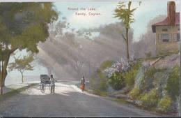 Round The Lake - Kandy - Ceylon - HP1508 - Sri Lanka (Ceylon)