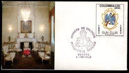COLOMBIA- KOLUMBIEN- 1982. FDC/SPD.  GUN CLUB - Kolumbien