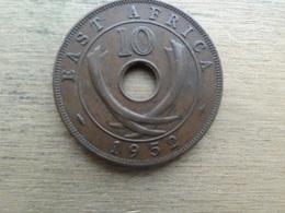 East Africa  10  Cents  1952  Km 34 - Colonie Britannique