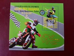 Bloc Bulgarie Luxe Neuf  Grand Prix De Bulgarie Moto Cross - Moto