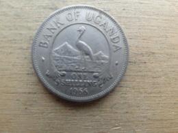 Ouganda  1  Shilling  1966  Km 5 - Uganda