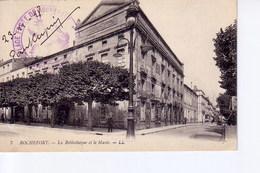 Rochefort, La Bibliotheque  Avec Cachet Place Port De Rochefort, Le Vice Amiral - Autres Communes