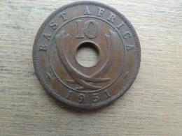East Africa  10  Cents  1951  Km 34 - Colonie Britannique