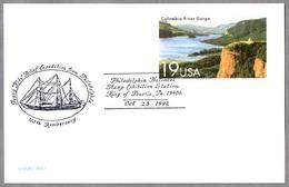 "100 Años EXPEDICION ROBERT PEARY A GROENLANDIA - Barco ""SS KITE"". King Of Prussia PA 1992 - Polar Exploradores Y Celebridades"