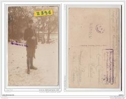 9648  POSTCARD AK CARTE PHOTO 2896 W.W.1. CAMP DE PRISONNIERS DE HAMELN SOLDAT M.CRESSONNIER SERGENT DU 127° INF.4° COM - Hameln (Pyrmont)