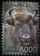 Bel5 Fauna Bison 2008 Mi749  Used-oblit. - Belarus