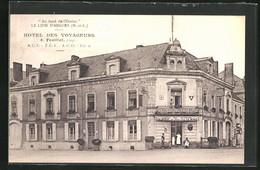 CPA Le Lion D'Angers, Hotel Des Voyageurs - Angers