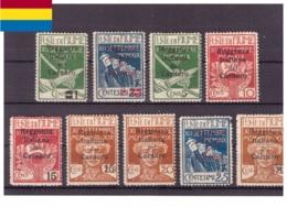 Fiume 1920 - * - Soprastampati - Reggenza Italiana Nel Carnaro - Unificato Nr. 1-6 8-9 11 (fiu013) - 8. Occupazione 1a Guerra