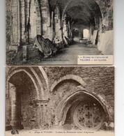 CPA Belgique Brabant Wallon Villers La Ville Abbaye Tonbeau Gobert D'Asprémont Ruines Cloître - Villers-la-Ville