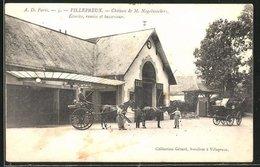 CPA Villepreux, Chateau De M. Nagelmackers, Ecuries, Remise Et Basse-cour - Villepreux