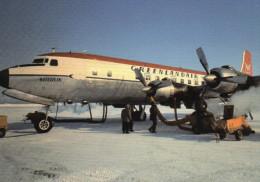 "CPM - DC 6 - OY-DRM - ""SULULIK"" - GREENLAND - GROENLAND - GREENLANDAIR - Coul - Ann 2000 - - 1946-....: Moderne"