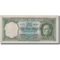 Billet, Turquie, 100 Lira, L.1930, 1964.10.01, KM:177a, TB+ - Turquie
