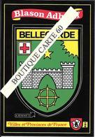 01. BELLEGARDE - BLASON -ECUSSON HERAIDIQUE - Bellegarde-sur-Valserine