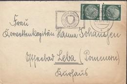 2 X 6 Pfg D'Allzmagne ( Hindenburg ) / L (.) Capt DANZIG-LANGFUHRT / 2.9.41-> Leba / Pomeranie - Dantzig