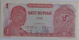 Indonesia 1 Rupiah 1968 UNC, World Paper Money P-102a - Indonésie