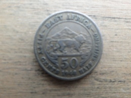East Africa  50  Cents  1948  Km 30 - British Colony