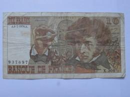 Billet FRANCE Dix 10 Francs Berlioz 1976 - MISE A PRIX 1€ ! Bonne Enchères :) - 1962-1997 ''Francs''
