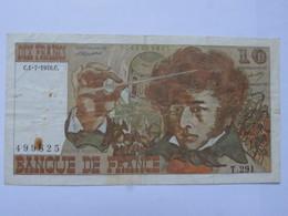 Billet FRANCE Dix 10 Francs Berlioz 1978 - MISE A PRIX 1€ ! Bonne Enchères :) - 1962-1997 ''Francs''