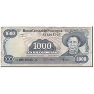 Billet, Nicaragua, 1000 Cordobas, KM:145a, TTB - Nicaragua