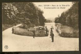 CP-LYON - Parc De La Tête-d'Or - L'Embarcadére Du Chalet - Lyon