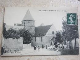 BALAGNY SUR THERAIN - L'église - Francia