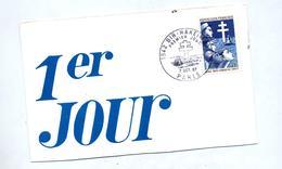 Carte  Fdc 1967 Paris Bir Hakeim Publicite Medicale - 1960-1969