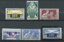 9762 FRANCE N° 210/5 ** Exposition Internationale Des Arts Décoratifs à Paris    1924-25  TB - France