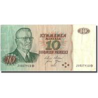 Billet, Finlande, 10 Markkaa, 1980, 1980, KM:111r1, TTB - Finlande