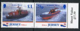 GRANDE-BRETAGNE- ILE  DE  JERSEY : Y&T N°  870/871  TIMBRES  NEUF  SANS  TRACE  DE  CHARNIERE . - Jersey