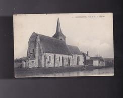 28 EURE ET LOIR , GOUSSAINVILLE, L 'église - France