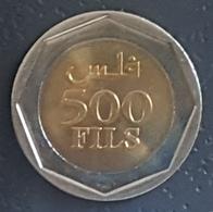 HX - Bahrain 2000 500 Fils Bimettalic Coin KM #22 - State Coat Of Arms - A-UNC / UNC - Bahreïn